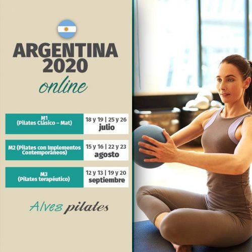 curso pilates Argentina 2020
