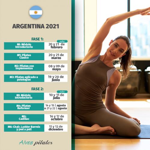 Curso de pilates presencial 2021