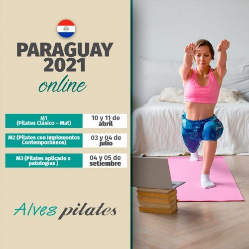 Curso de pilates online Paraguay 2021