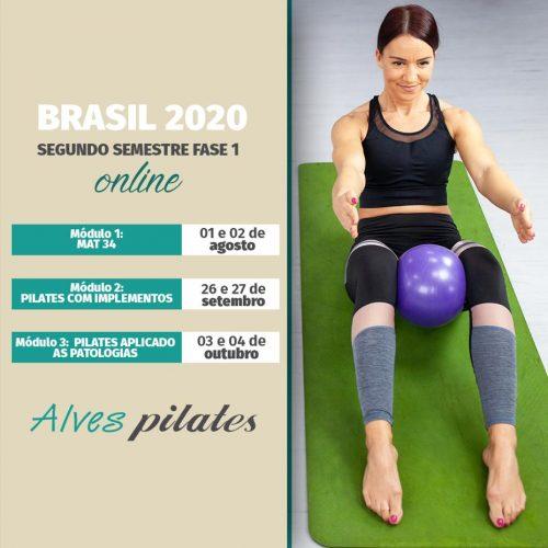 Formaçao pilates online