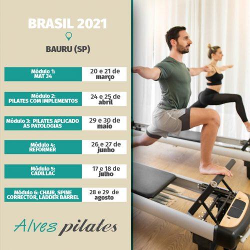 Curso pilates Bauru 2021