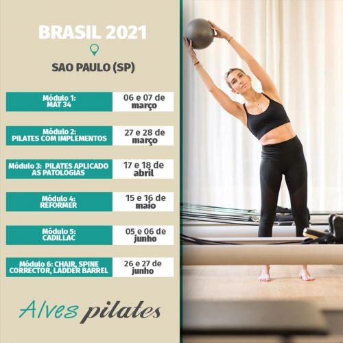 Curso pilates São Paulo