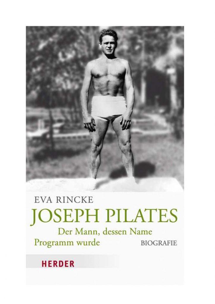 Capa do livro Joseph Pilates de Eva Rincke