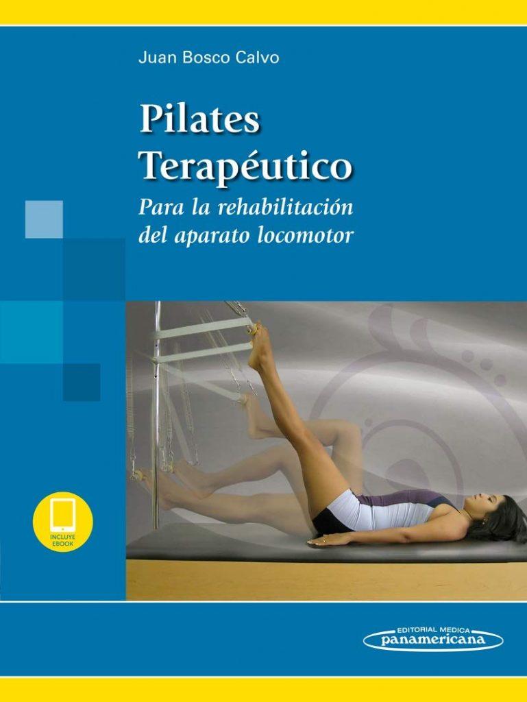 Capa do livro Pilates Terapêutico