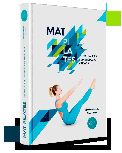 Capa do livro Mat Pilates