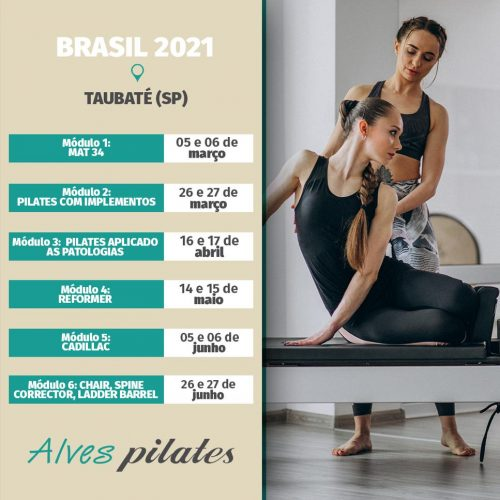 Curso Pilates Taubaté 2021