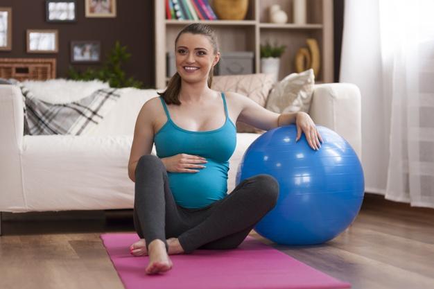 pilates na gravidez pode