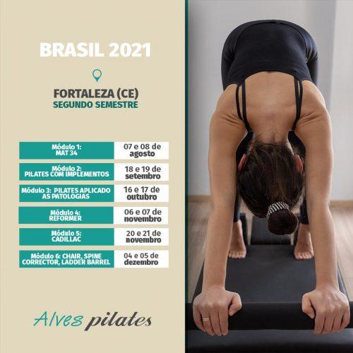 Curso de pilates em Fortaleza