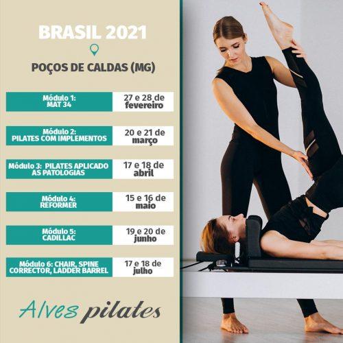 Curso de pilates poços de caldas 2021
