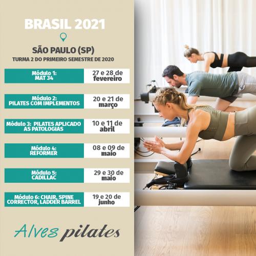 Curso São Paulo 2021 - Turma 2 Primeiro Semestre