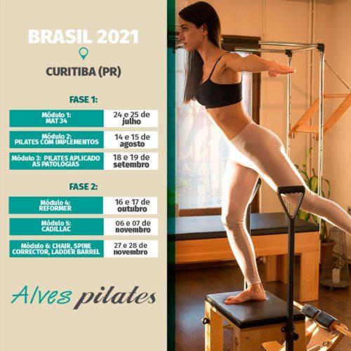 Curso pilates curitiba 2021