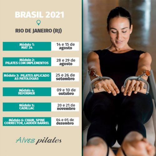 Curso de pilates RJ 2021