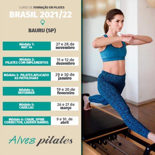 Curso pilates bauru