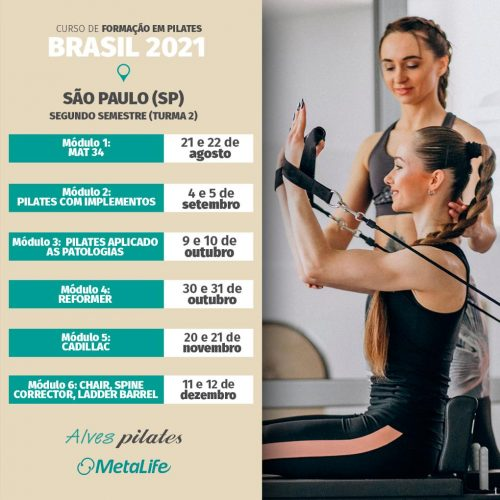 Curso de pilates São Paulo turma 2