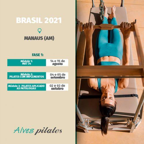 Curso de pilates Manaus