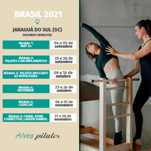 Curso pilates Jaraguá do Sul