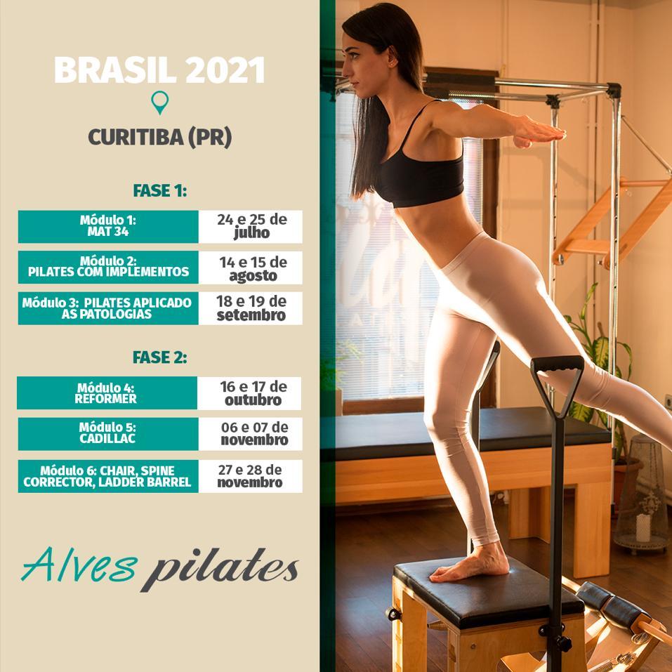 Curso pilates Curitiba