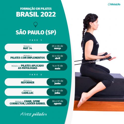 Curso de pilates São Paulo